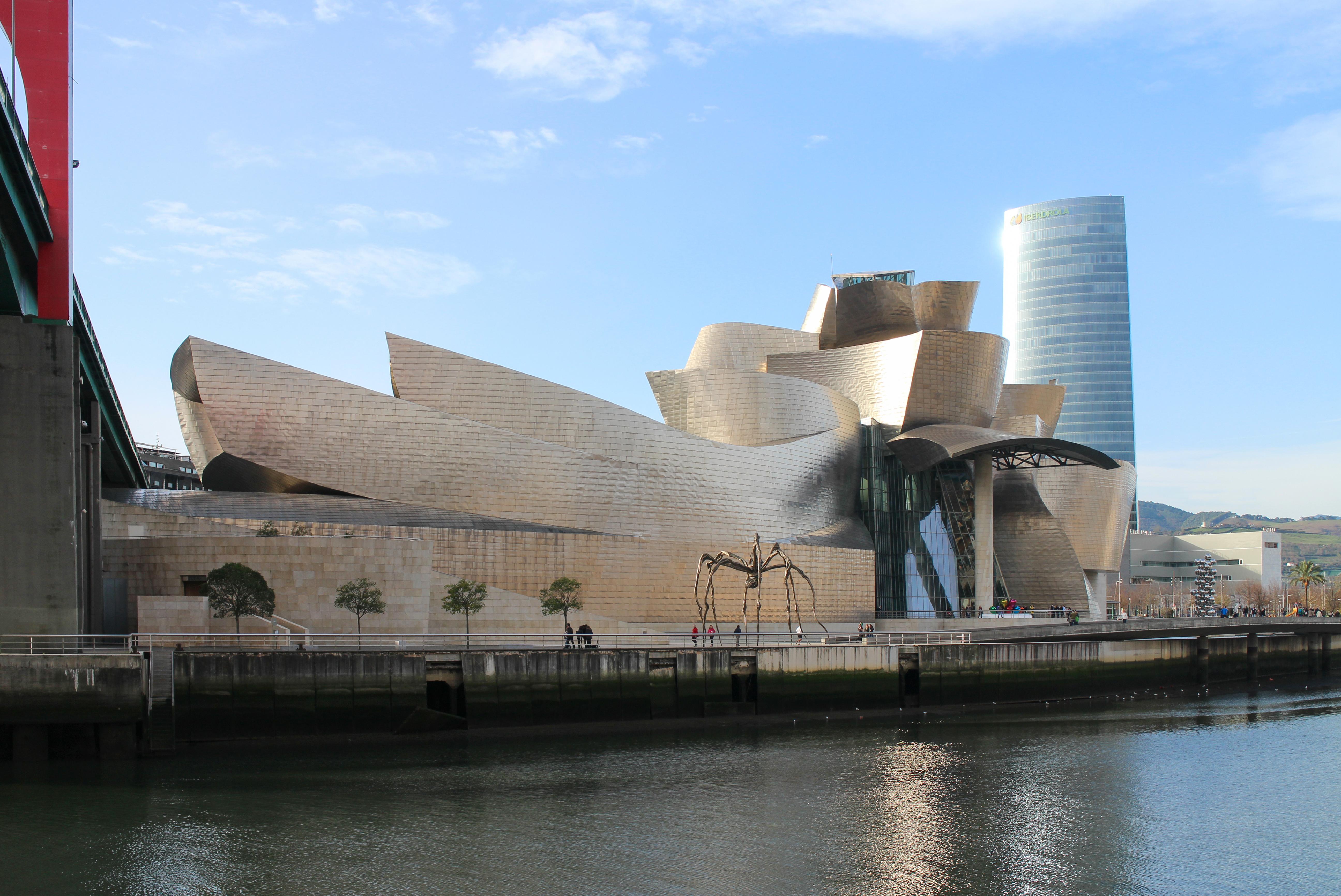 Guggenheim Museo.Guggenheim Bilbao Data Photos Plans Wikiarquitectura