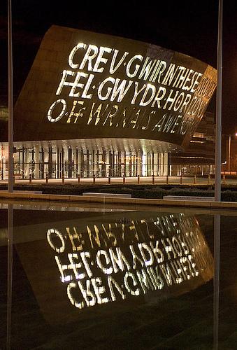 Wales Millenium Center Data Photos Amp Plans