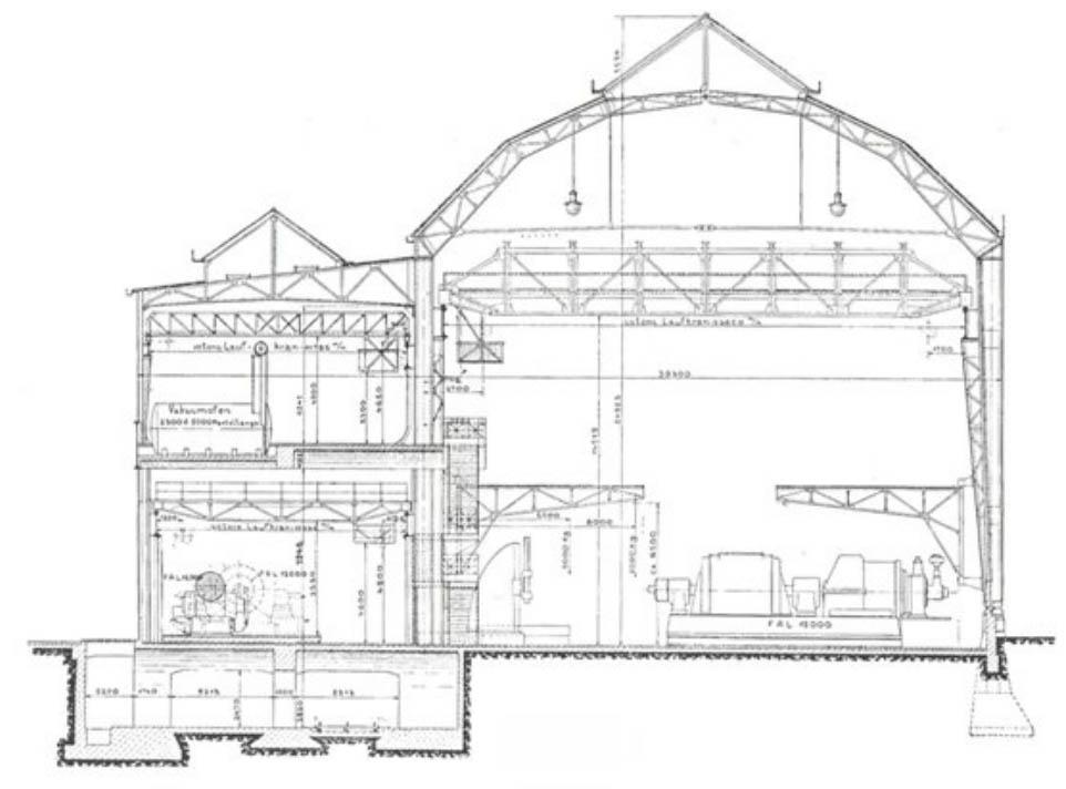Steel Structure Industrial Building Floor Plan