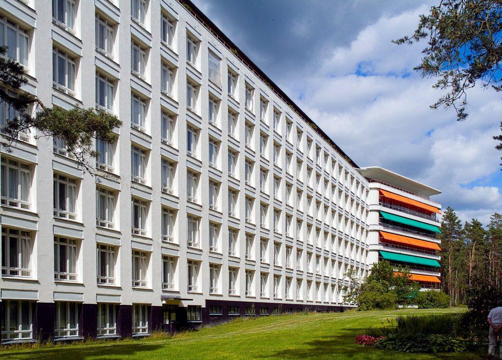 Paimio Sanatorium - Data, Photos & Plans - WikiArquitectura