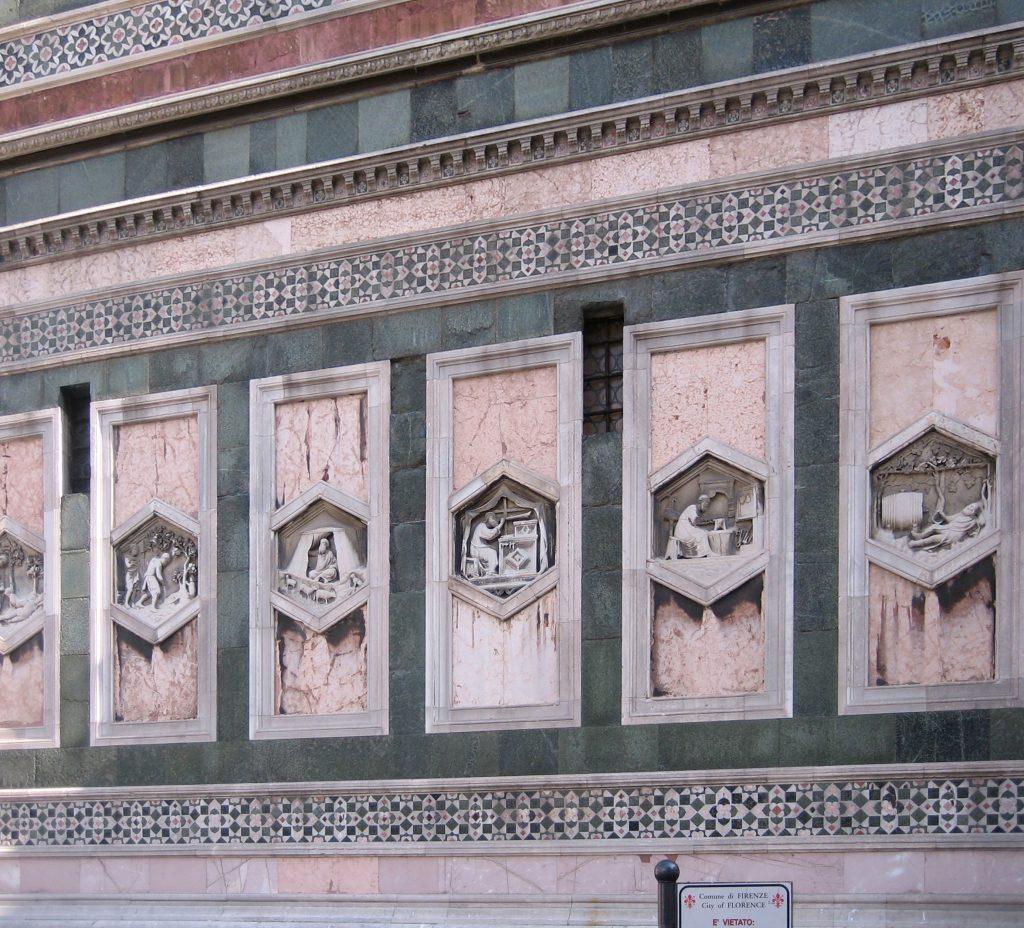 Baptistery Of San Giovanni Data Photos Amp Plans