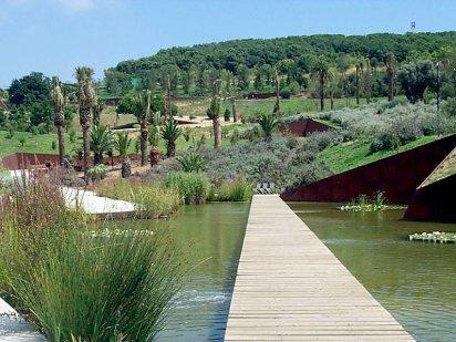 Botanical garden of barcelona data photos plans for Jardin botanico montjuic