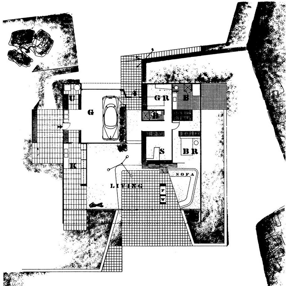 Entenza House Case Study House N 186 9 Data Photos