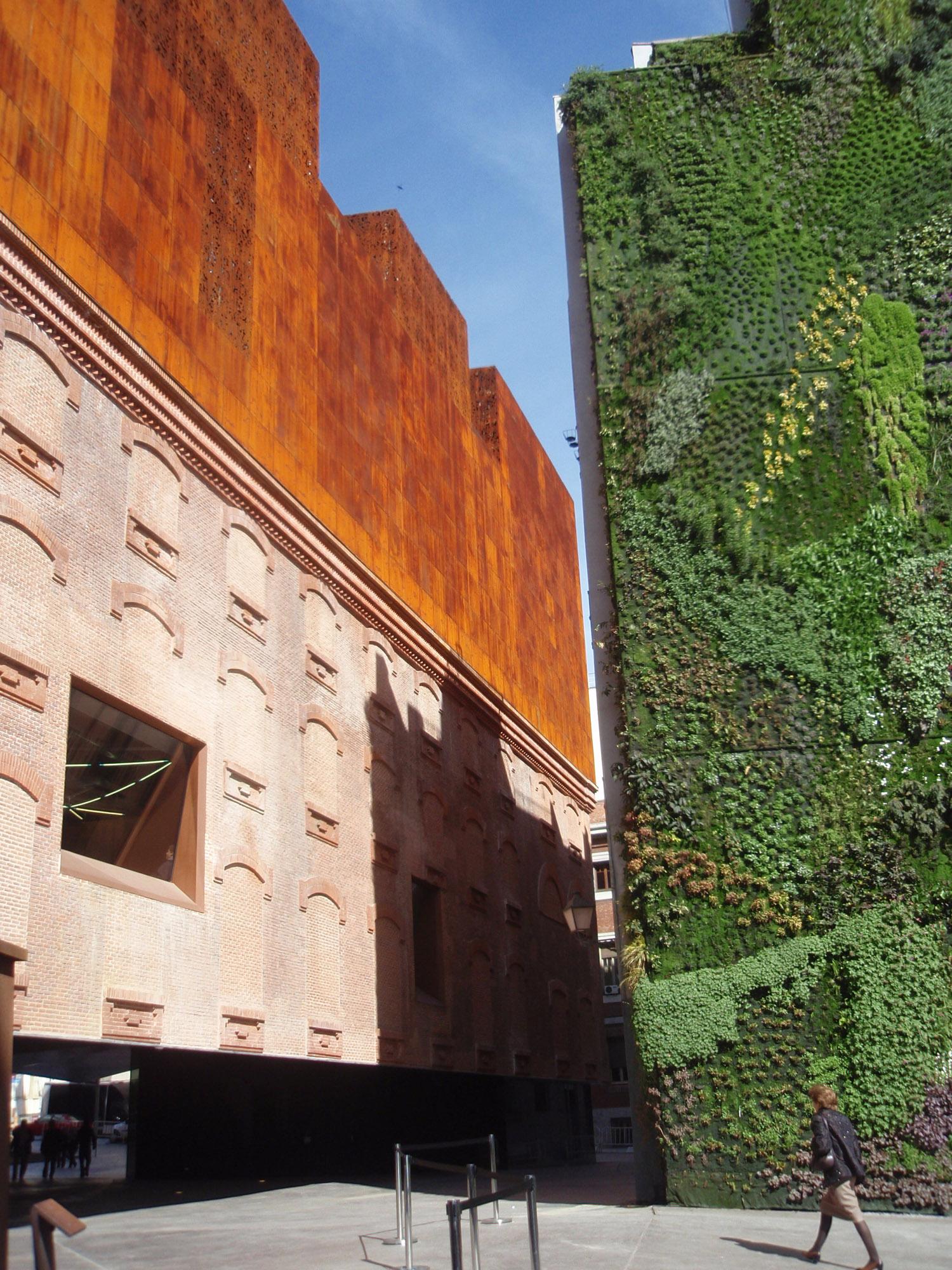 Architettura A Madrid ✅ caixa forum madrid - data, photos & plans - wikiarquitectura