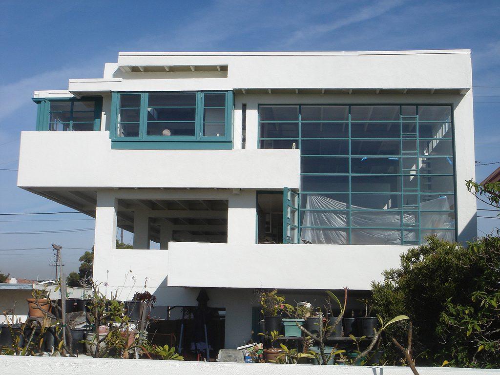 Lovell beach house data photos plans wikiarquitectura - Casa de playa ...