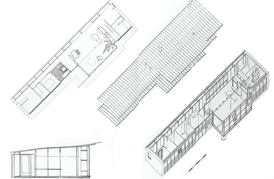 Prouvé House - Data, Photos & Plans - WikiArquitectura