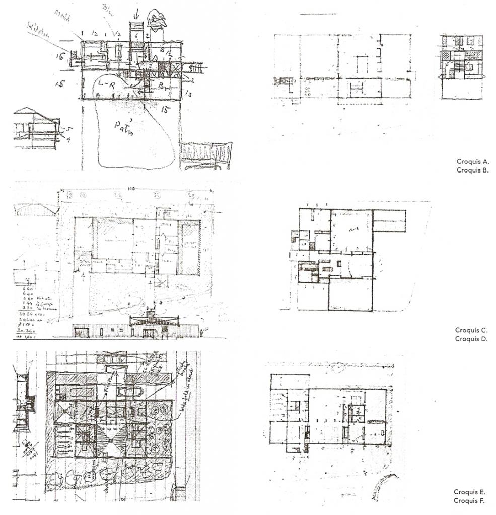 Sert 39 s house in cambridge data photos plans for Croquis de casas