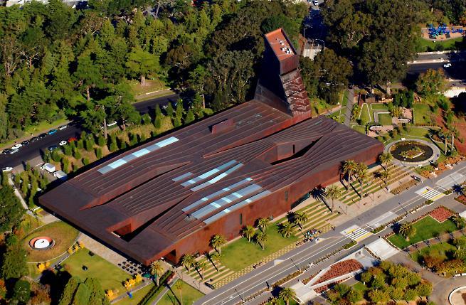 De Young Museum Data Photos Amp Plans Wikiarquitectura
