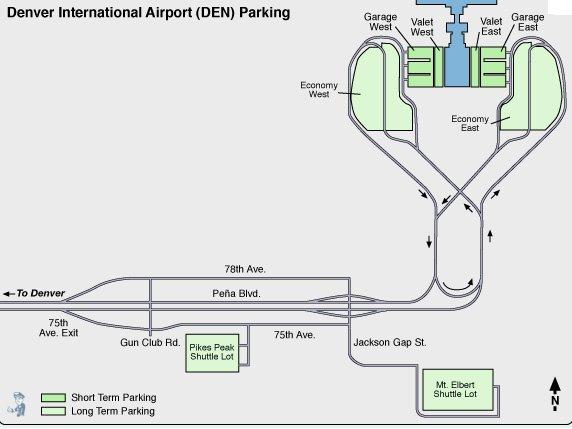 Denver International Airport - Data, Photos & Plans - WikiArquitectura