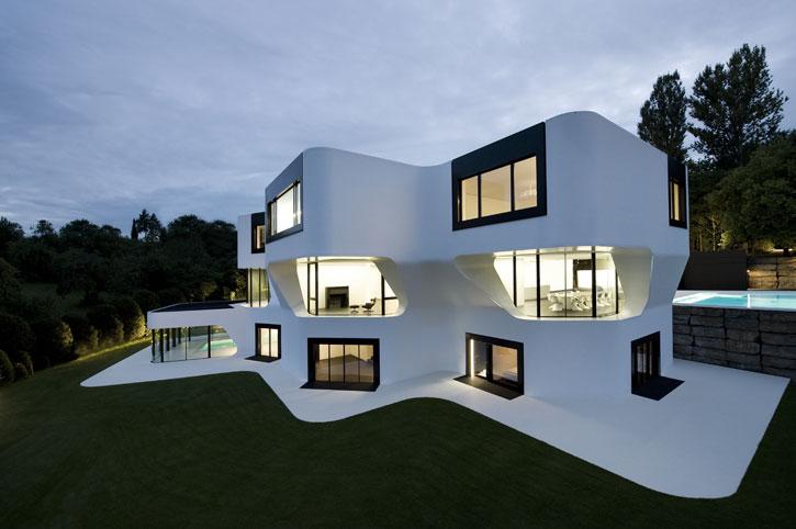 Très Beautiful Architecture Villa Moderne Photos - Transformatorio.us  SL35