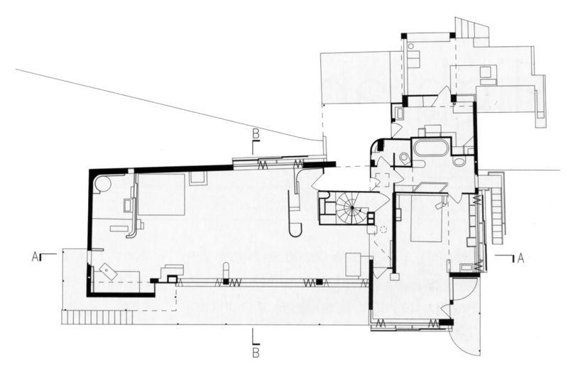 eileen gray e1027 floor plan - photo #16