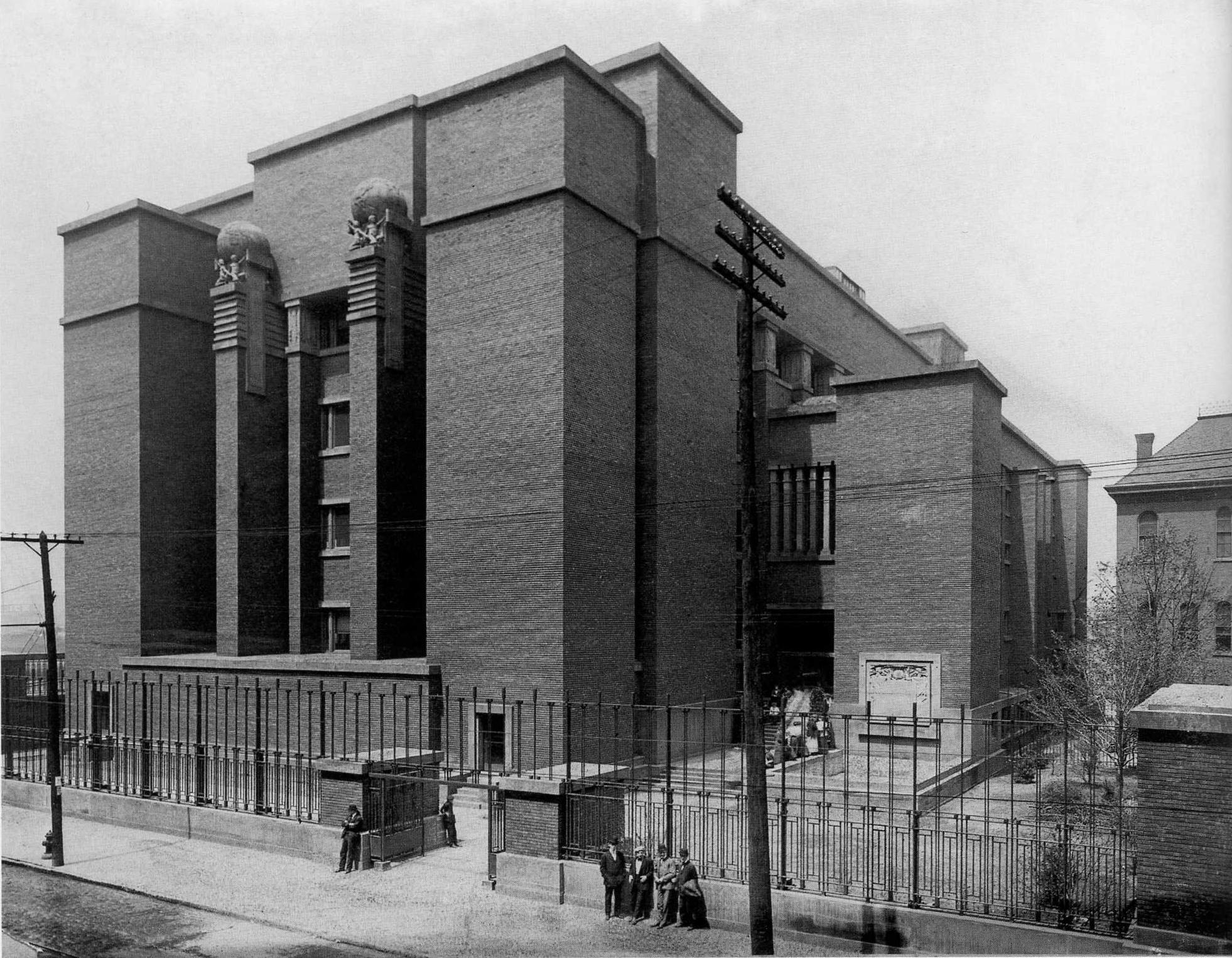 Frank Lloyd Wright Style Larkin Building Data Photos Amp Plans Wikiarquitectura