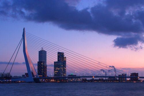 Erasmo Bridge - Ficha, Fotos y Planos - WikiArquitectura
