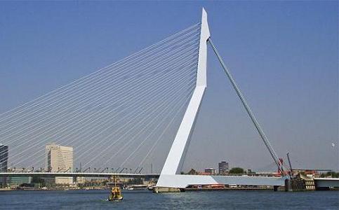 Erasmo Bridge - Data, Photos & Plans - WikiArquitectura