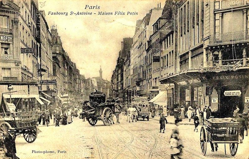 Felix potin building data photos plans wikiarquitectura - Monoprix rue saint antoine ...