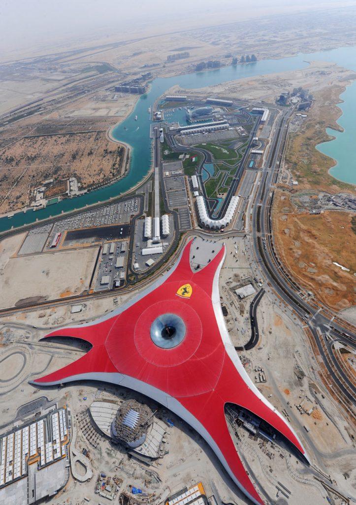 Ferrari World Abu Dhabi Data Photos Amp Plans