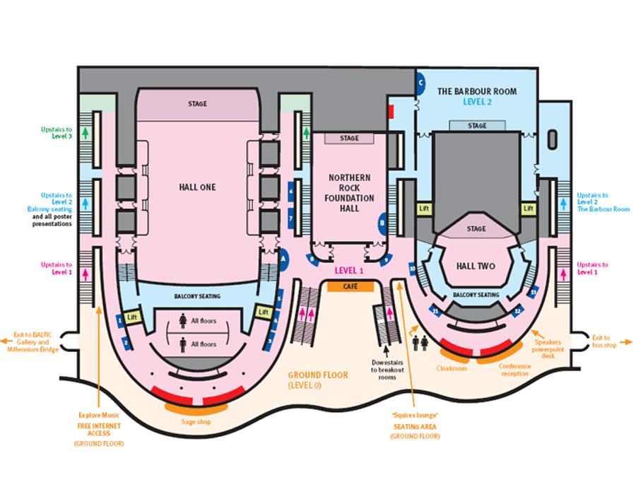 The Sage Gateshead Auditorium - Data, Photos & Plans - WikiArquitectura
