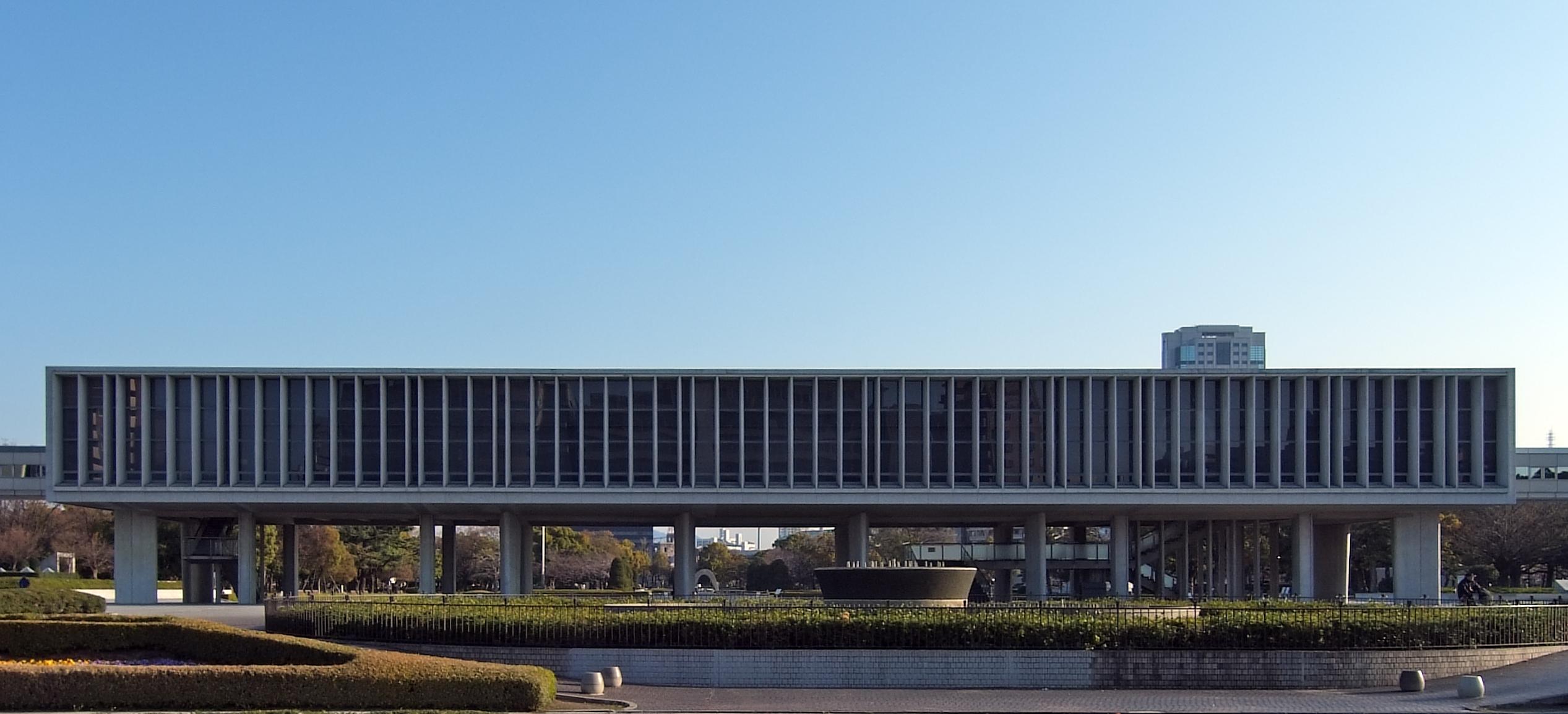 Hiroshima Peace Memorial Museum - Data, Photos & Plans - WikiArquitectura