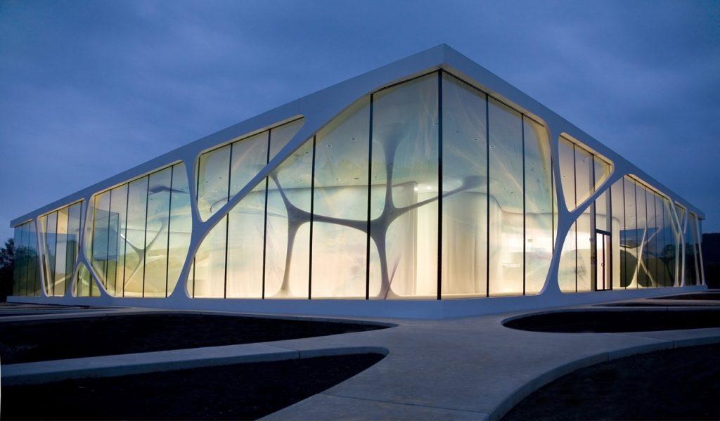 Modern Exhibition Stand Vector : Leonardo glass cube data photos plans wikiarquitectura