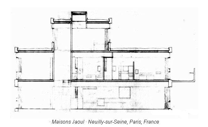 Maisons Jaoul  Data Photos  Plans  Wikiarquitectura