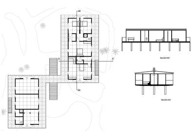 Maisons tropicales data photos plans wikiarquitectura - Plan maison tropicale gratuit ...
