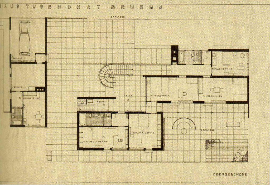 Tugendhat mansion data photos plans wikiarquitectura - Fotos de casas de una planta ...