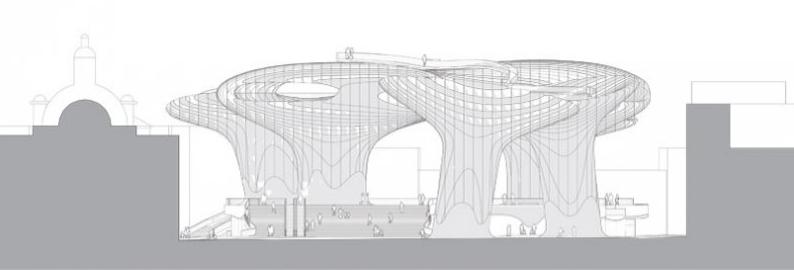 metropol parasol data photos plans wikiarquitectura. Black Bedroom Furniture Sets. Home Design Ideas
