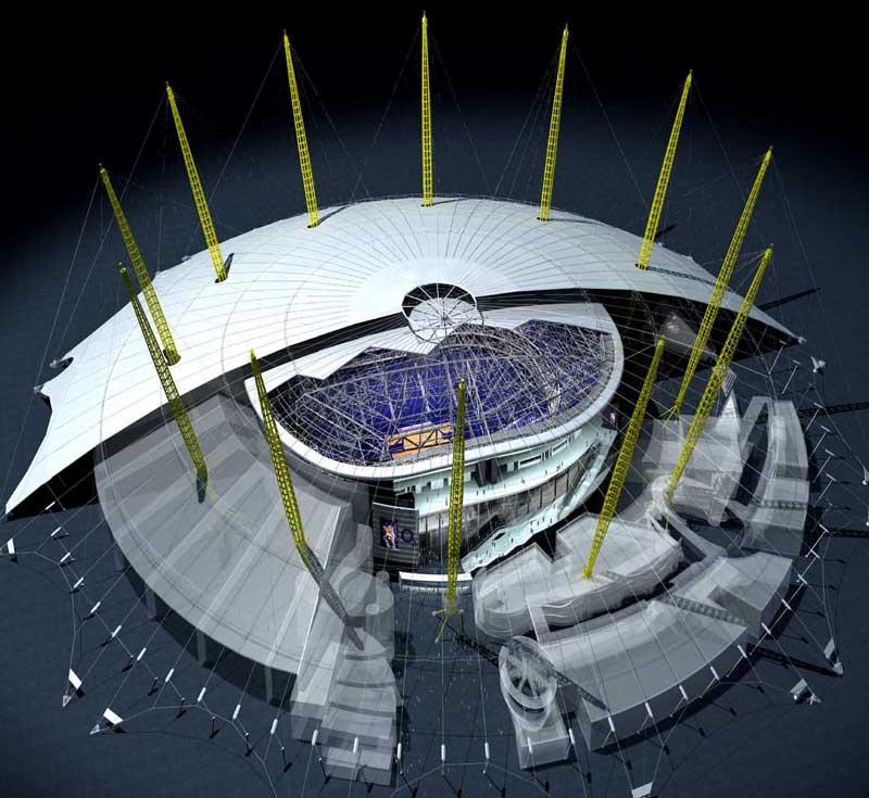 Millennium Dome O2 Arena Data Photos Amp Plans