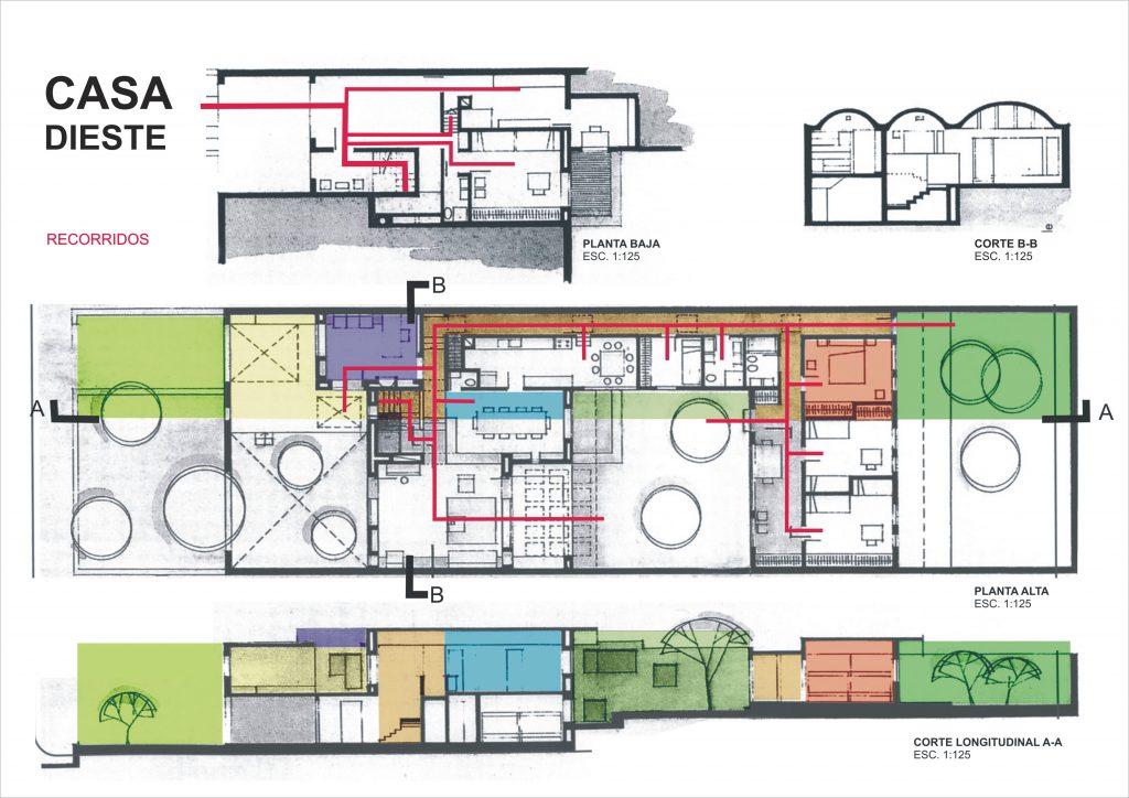 Dieste house data photos plans wikiarquitectura for Planos gratis