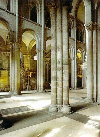 Santiago de compostela cathedral data photos plans - Interior santiago de compostela ...