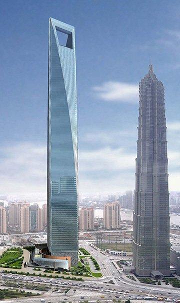 Shanghai World Financial Center Data Photos Plans