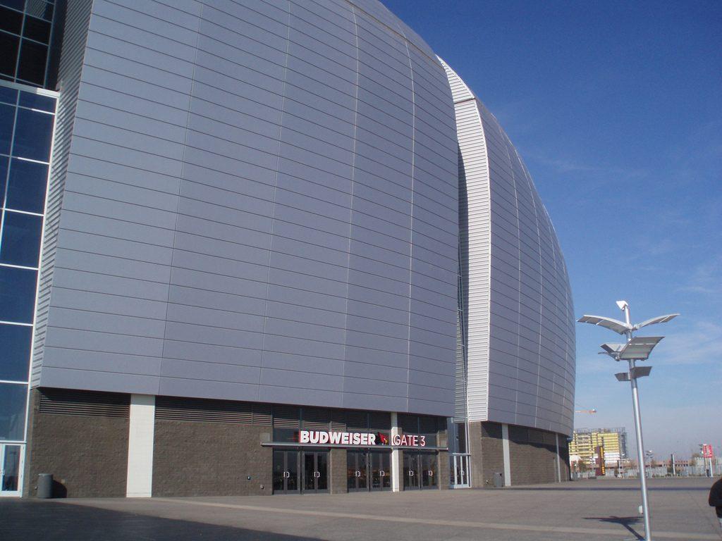 phoenix university stadium data photos amp plans