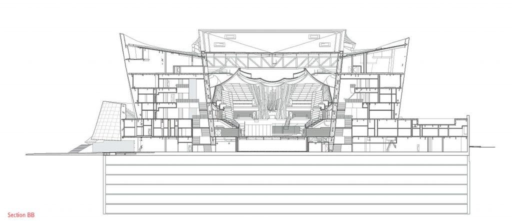 Walt Disney Concert Hall Data Photos Plans Wikiarquitectura