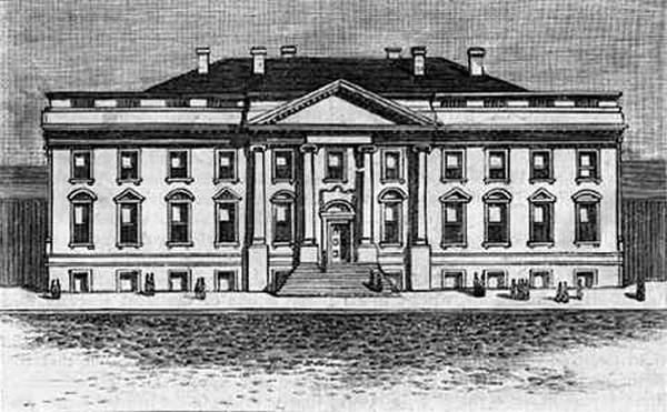white house data photos plans wikiarquitectura